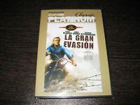 La Gran Evasion DVD Steve Mcqueen Garner James Scellé Neuf