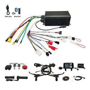 EU DUTY FREE 48V-72V 45A 1500W-2200W Sabvoton Controller lcd brake Kit eBike