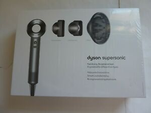 Dyson Supersonic Hair Dryer White/Silver  INCLUDES ALL ATTACHMENTS NEW & SEALED