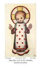 """Fleißbildchen Heiligenbild Gebetbild """" Hummel """" Holy card Ars sacra"""" H632"""""""
