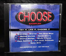 Choose Sampler  - Try It, Like It, Choose It - CD - Promo