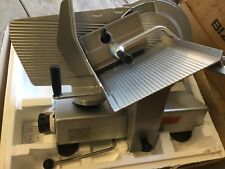 Bizerba Se 12 Gravity Feed Manual Meat Cheese Turkey Deli Slicer Hobart