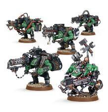Warhammer 40000 50-22 Ork lootas & burnas 5 X Mini Figuras Kit T48 Post