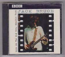 JACK BRUCE - Live On The Old Grey Whistle Test - Like New CD - BBC Cream