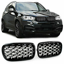 Sports Kidney grill Exclusive looks Black Chrome for BMW X5 F15 X6 F16
