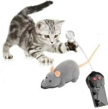 Wireless Remote Control Electronic Rat Mouse Mice Toy For Cat dog Gift FREE P&P