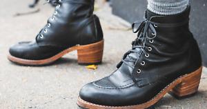 WMNS Red Wing Clara Boot Black, EUC. Size 11 Reg (B) Style: 3405