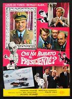 Manifesto Chi Ha Robo El Presidente Louis De Funes Bernard Blier Lau En S13