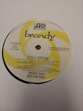"""BRANDY - FULL MOON 12"""" VINYL LP DJ PROMO ONLY 4 EXCLUSIVE REMIXES"""