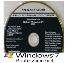 DVD Neuf Original Windows Windows 7 PRO 64 Bit  + Clé d'activation authentique