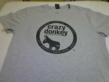 Crazy Donkey Ipa Santorini Brewing Company Greece T-shirt adult Large