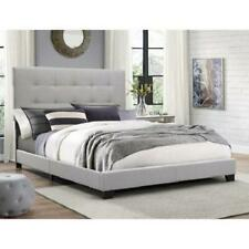 Platform Bed Frame King Size Furniture Queen Full Twin Tufted Upholstered Wood