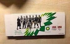 GIOCHI OLIMPICI DI LONDRA 2012 sponsor BP USA TEAM Distintivi pin impostato