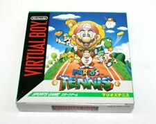 Mario Tennis (Nintendo Virtual Boy) - Jap. Import Complete Fast Shipping