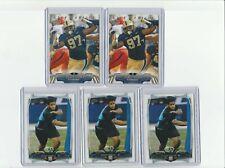 AARON DONALD RAMS 5 CARD 2014 ROOKIE CARD LOT!!!!!!!!!!!!!!!!!!