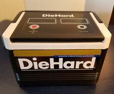 Vintage IGLOO DIEHARD Car Battery Black Cooler Lunch Box 6 Pack Die Hard USA