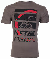 METAL MULISHA Mens T-Shirt STRATEGIC Motocross Racing CHARCOAL Biker Fox $30