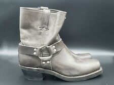 Frye Harness Boots in Gray Sz. 8.5