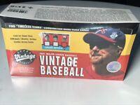 2001 UPPER DECK VINTAGE MLB BASEBALL Hobby box Find Mickey MANTLE?