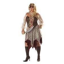 Costume 2pc South Seas Siren Pirate Women Plus Size 16-22 One Size NIP