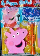 Peppa Pig Bag O Fun Magazine #126 2020 Read Make Colour & Draw Gifts