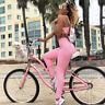 Women Yoga Set Sports Bra & Stretch Pants Leggings Gym Running Fitness Suit Lady