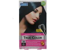 3 PACK LUCKY SUPER SOFT TRUE COLOR BLUE BLACK WOMEN'S HAIR COLOR NEW