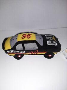 NASCAR Beanie Racer CAT Caterpillar #96 David Green Plush Toy 1998 Collect