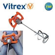 Vitrex mix1400 VELOCITÀ VARIABILE POTENZA Miscelatore 1400W 240V Mortaio Adesivo & cemento