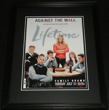 Against the Wall 2011 11x14 Framed ORIGINAL Advertisement Rachael Carpani