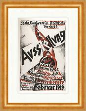 Ausstellung von Künstlern mit Werken Weltkrieg Otto Dix Plakatwelt 1212 Gerahmt
