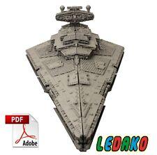 Bauanleitung MOC Aggressor Star Destroyer LEGO® Steinen STAR WARS™ Keine Steine!