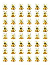 "48 HONEY BUMBLE BEE ENVELOPE SEALS LABELS STICKERS 1.2"" ROUND"
