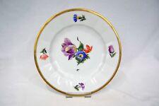 Royal Copenhagen Luncheon Plate Multimotif Floral Rim & Center Gold Trim