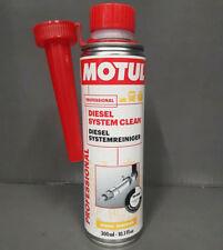 1x 300ml MOTUL DIESEL SYSTEM CLEAN CLEANER FUEL ADDITIVE ADD ENGINE TREATMENT