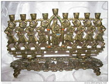 Maccabees The ancient Jewish heroes ~ Hanukkah Menorah Lamp by TAMAR Israel