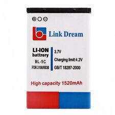 1520mAh Battery BL-5C for Nokia 2310 3100 6030 6230 3120(BR-5C) E0