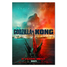 Godzilla Vs Kong Movie Poster - Official Art - High Quality Prints