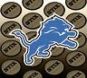 Detroit Lions Logo NFL Die Cut Vinyl Sticker Car Window Hood Bumper Decal