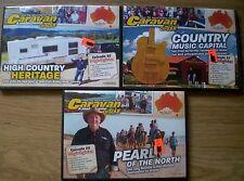 3 x Aust CARAVAN & MOTORHOME ON TOUR  # 182/188/191 DVDs  R4/PAL Travel