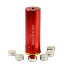Red Laser Bore Sight 12 Gauge Barrel Cartridge Boresighter for 12ga Shotguns