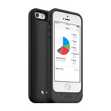 NUOVO pacco Mophie Space Caricabatteria caso 32GB Storage per iPhone 5 5S-Nero