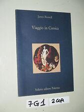Boswell VIAGGIO IN CORSICA (7 G 1)