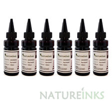 6 Refill bulk Ink dye Bottle kit to replace HP301 HP363 HP364 xl cartridge 600ml