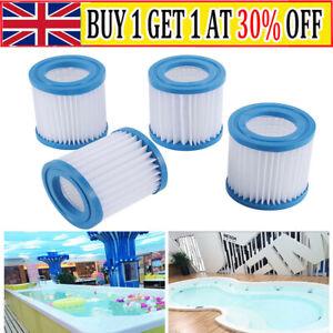 1-4X For Bestway 58093 Pool Filter Cartridge SIZE I Swimming Pool PUMP TYPE 1 UK