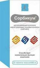 Sorbicum (Lignin) source of dietary fiber 30 tab body detox