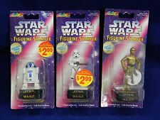 1997 STAR WARS FIGURINE STAMPER BY ROSEART - R2-D2, STORMTROOPER, C-360
