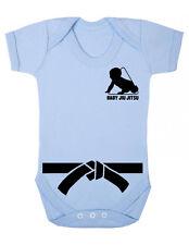 """Baby Bodysuit  """"Jiu Jitsu Baby""""  Karate Kid /  Jiu Jitsu Funny Baby Suit"""