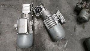 NORD gearmotor 0.55KW ratio: 30