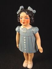 Ancienne rare poupée fillette terre de pipe composition France années 30 Gégé ?